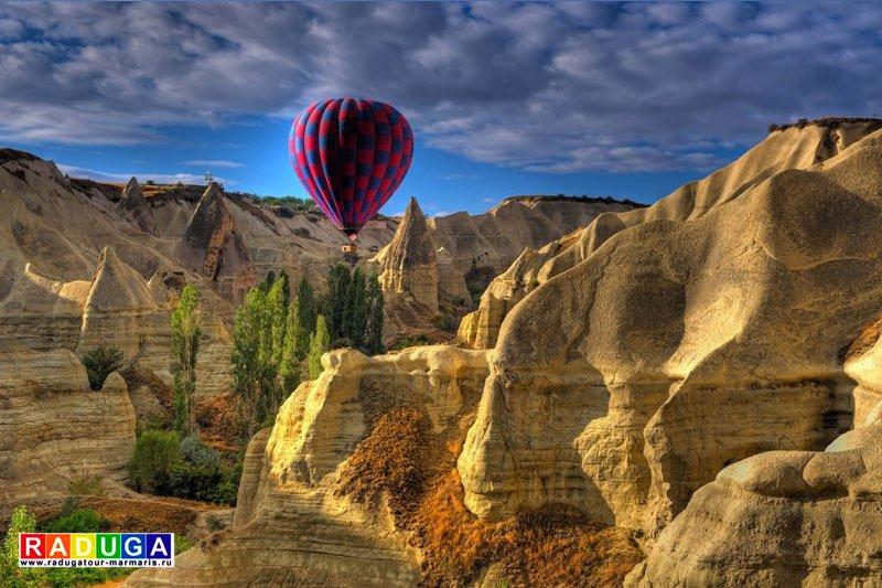 Самые инстаграмные места Турции: Каппадокия